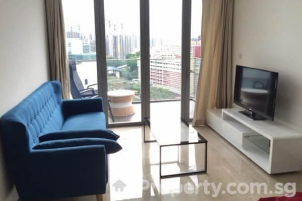 A 2 bed condo in the Parc Botannia area in Singapore